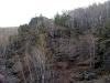 Скалы на правом берегу