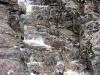 Водный поток пробил каменные ступени