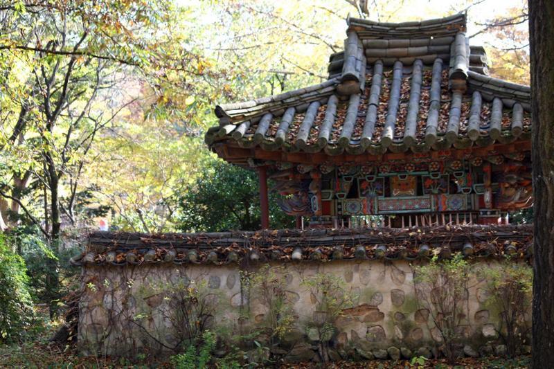 В корейской народной деревне
