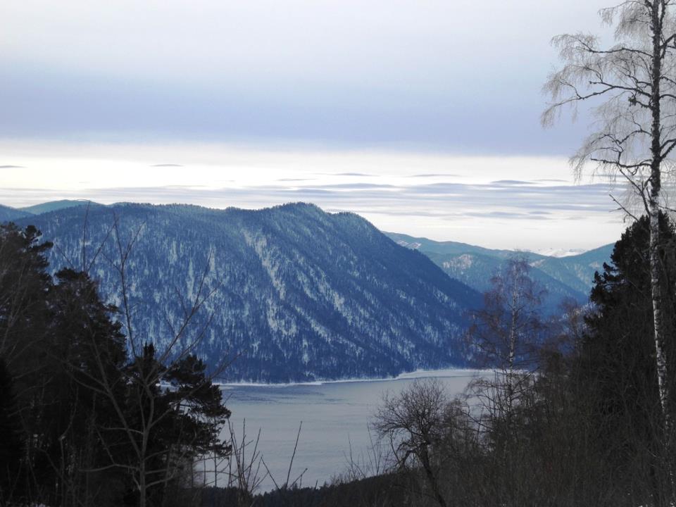 Телецкое зимой. 2013