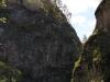 Вид из Каповой пещеры