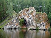 Каменск-Уральский и Скала Каменные ворота