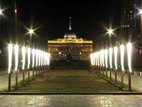 Астана  ночью