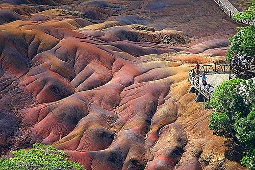 Деревня Шамарель на юго-западе Маврикия