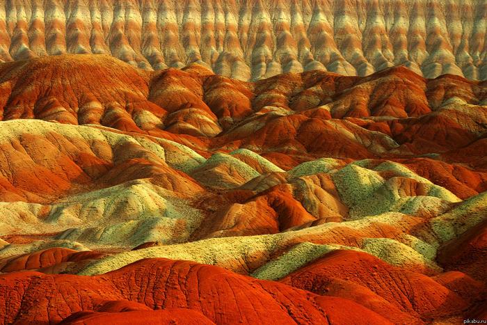 Цветные горы Ирана, Табриз