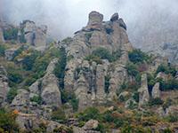 Демерджи. Долина Привидений