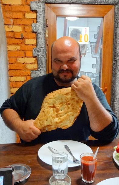 грузинский хлеб - пури
