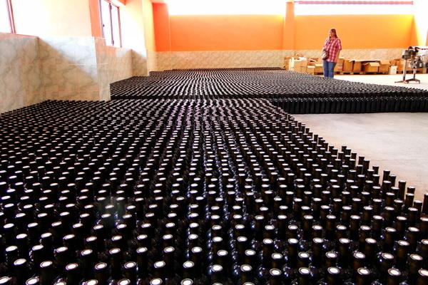 На винзаводе, готовая продукция