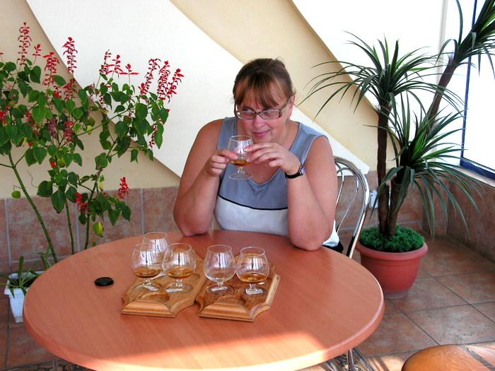 Дегустация коктебельского коньяка