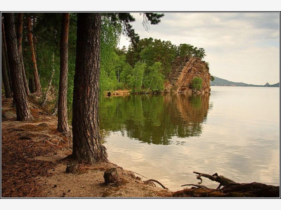 Южный берег озера Борового.