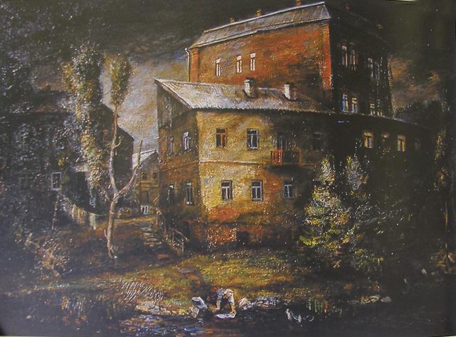 Анатолий Калашников, Красный дом, 1982