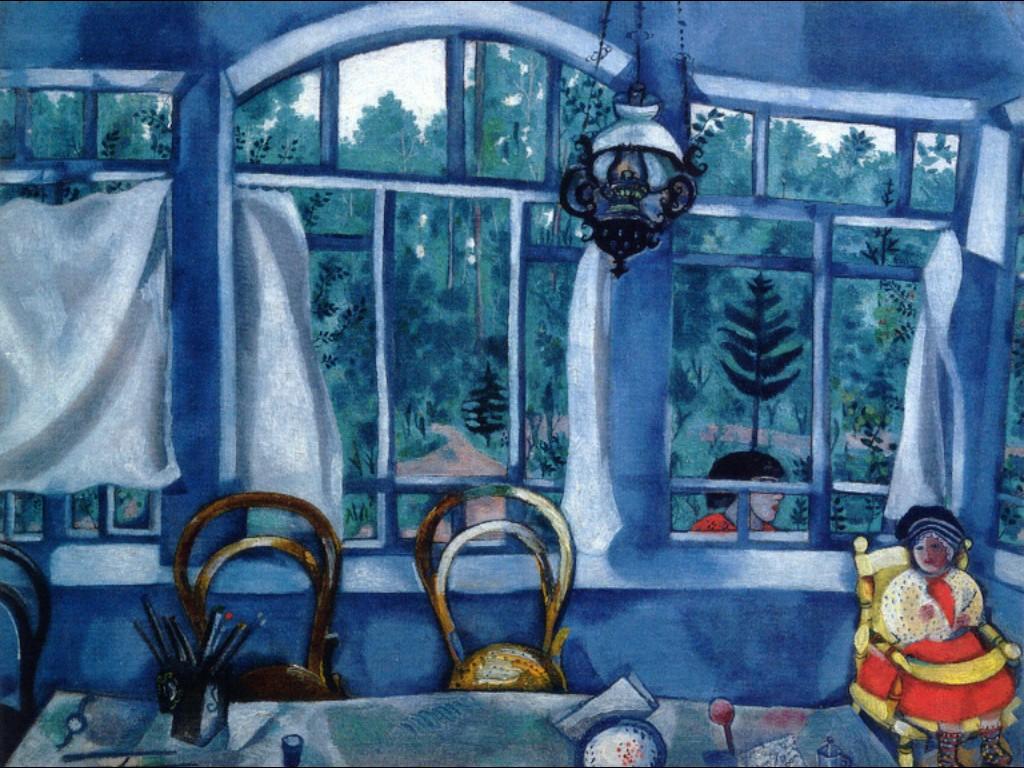 Окно в сад, 1917