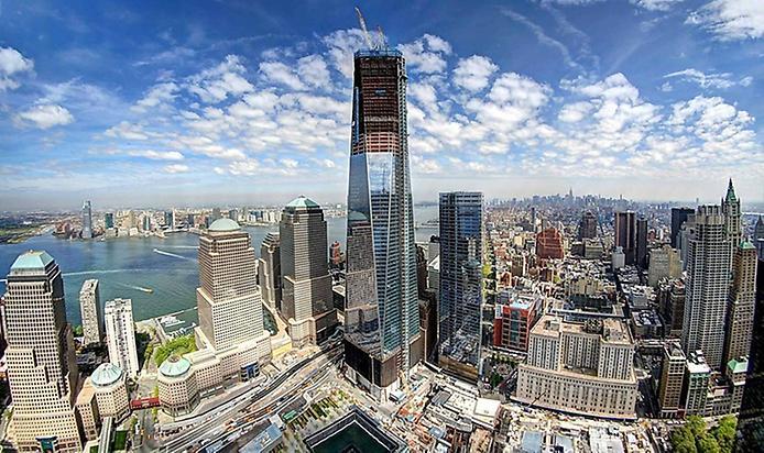 Всемирный торговый центр Нью-Йорк