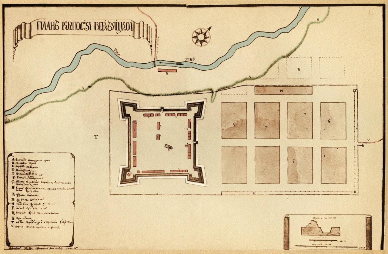 Верхнеяицкая крепость