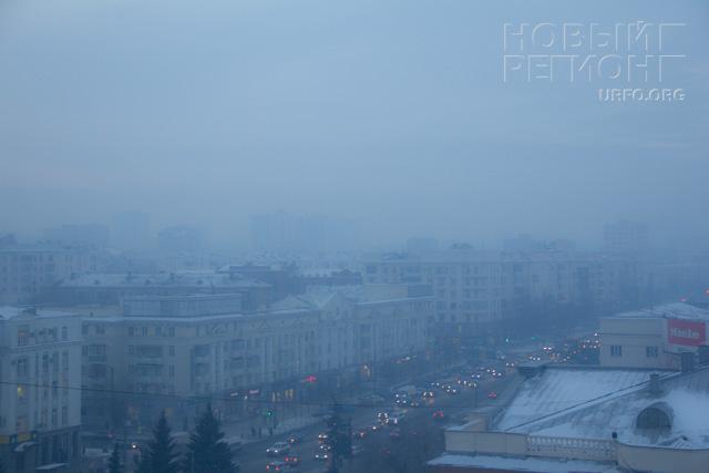 Челябинск смог