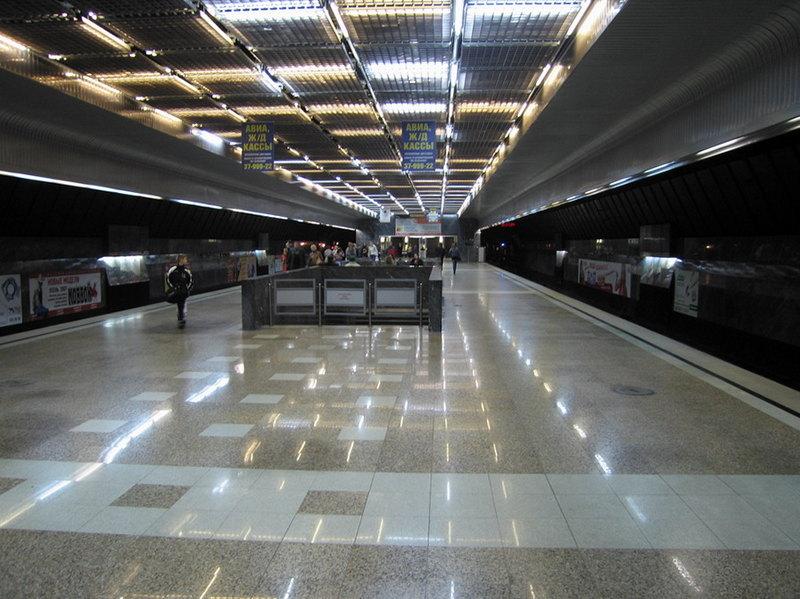 Екатеринбург метро Станция Геологическая