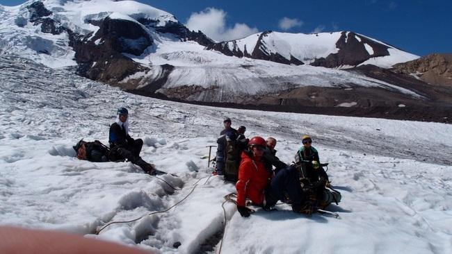 Траверс ледника