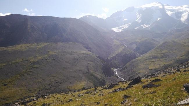 Путь спуска с перевала