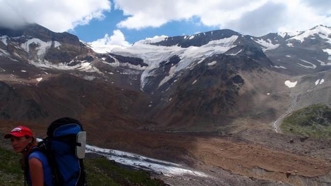 Вид на перевалы Кюкюртлю