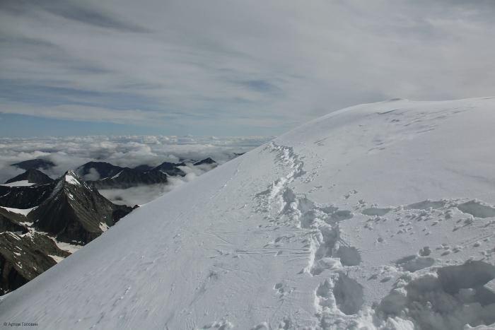 Пик Делоне. 4260 м