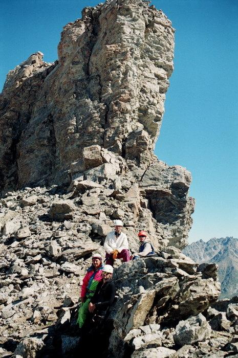 Перевал Жандарм с видом на Жандарм