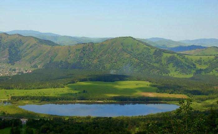 озеро Манжерокское