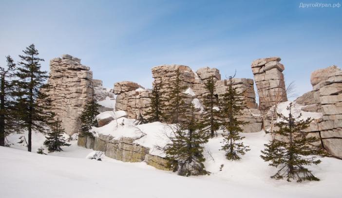 Скалы Крепость