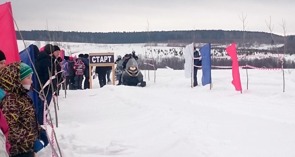 гонка на снегоходах Усть-Баяк Алексей Лосев