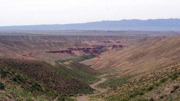 В Чарынском каньоне