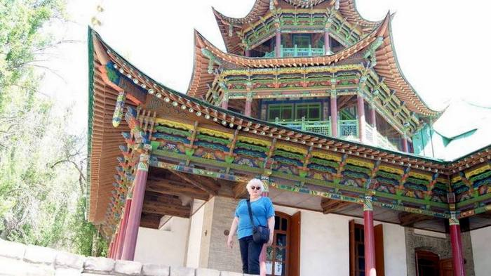 Жаркент. Мечеть, построенная китайским мастером без единого гвоздя